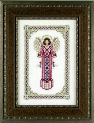 Just Nan Ariel Angel Counted Thread Cross Stitch
