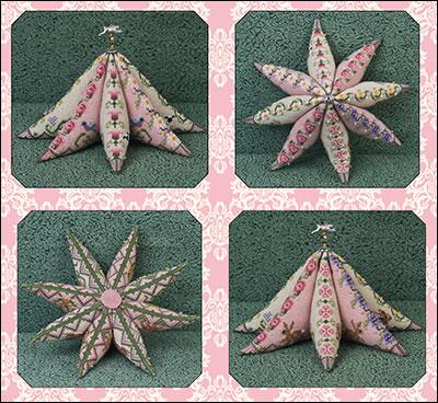 Just Nan - JN260 8 Point Star Garden • Counted Thread Cross Stitch Designs  from Just Nan