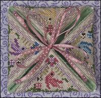 JN282 •  Summer in the Meadow  -  May be framed or finished as needle case