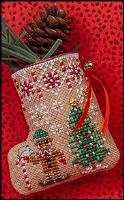 Click for Gingerbread Mouse Elf Stocking